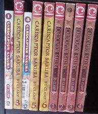 Cardcaptor Sakura 1, 3-6 Master of the Clow 1-4 Lot of 9 Shojo Manga, All Ages