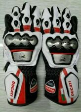 Ducati Motorbike Gloves Racing Pre-Curved Fingers ALL SIZES