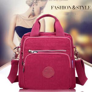 Women Girl Work Casual Sport Travel Shoulder Crossbody Bag Handbag Backpack