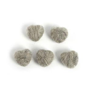 5pcs/set Newborn Photography Props Heart Wool DIY Photography Props Accessor XE