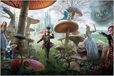 Alice au pays des merveilles Film Poster Art Print 91x61 cm