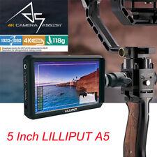Lilliput A5 5 Zoll LCD IPS Kamera 4K HDMI Feld Monitor für Canon Nikon Sony DSLR