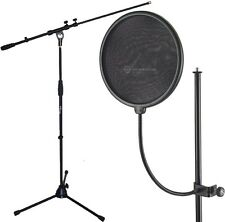 K&M 23966 Popschutz + KEEPDRUM MS107B Mikrofonständer