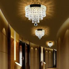 PENDANT CEILING LAMP Crystal Ball Fixture Light Chandelier Flush Mount Light EJG