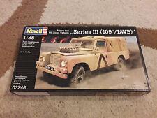 Revell 03246 Land Rover Series III 109 LWB British SAS Militär 1:35 NEU