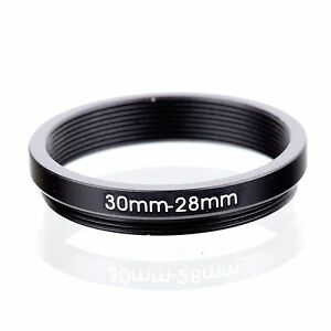 30mm-28mm 30mm to 28mm 30 - 28mm Step Down Ring Filter Adapter for Camera