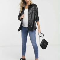 NWT Topshop Jamie Over The Bump Maternity Jean Size 28x30