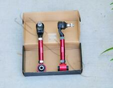 Red Rear Adjustable Camber Kit For Honda Accord 2003-2007 Acura TSX 2004-2008