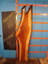 "# 9420    1 13/16"" THICK cherry burl live edge slab wood lumber rustic"