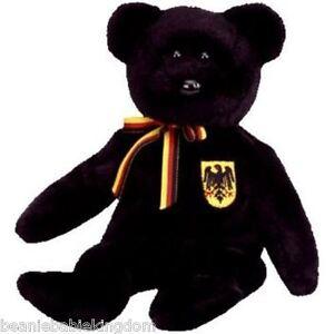 TY BEANIE BABIE * FREIHERR VON SCHWARZ * THE GERMAN EXCLUSIVE TEDDY BEAR 4611