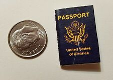 Miniature American Passport  GI Joe Action Figure 1/12 Scale Secret Agent Robert