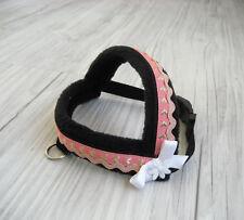 Hundegeschirr Umfang 30-35 cm Hundehalsband Halsband Hundebekleidung Handarbeit