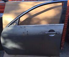 07-15 INFINITI G35 G37 SEDAN FRONT LEFT DRIVER SIDE DOOR SHELL GRAY # MR8-DRS82