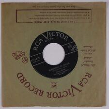 DOLORES MARTEL: Phonograph Record '53 Pop Female Vocals RCA 47-5455 45 HEAR