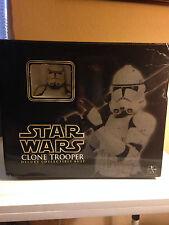 Star Wars Clone Trooper Deluxe Collectible Bust 2006 Gentle Giant 11018/15000