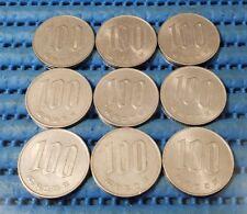 1980 Japan Year 55 Hirohito (Showa) 100 Yen (¥100) Flower Coin (Price Per Piece)