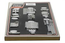 Stock Style Hardware Kit Cadmium fits Harley Davidson V-Twin 8321 CAD
