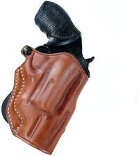 """Leather OWB Paddle Holster Open Top Fits, S&W Governor Revolver 2.75"""" BBL #1127#"""