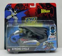 The Batman Animated Series EXP Strike Cycle with Batman Mattel NIP 4+ S169-6
