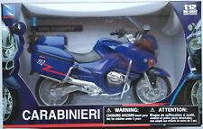 NewRay BMW R1200 RT Carabinieri Italien 1:12 Neu/OVP Motorrad-Modell Motorcycle