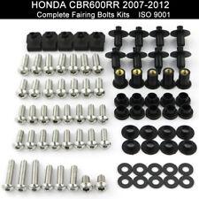 Motorcycle Fairing Bolt Kit Stainless Screws For Honda CBR600RR 2007-2012