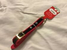 New listing Petholiday Collection Sz S Dog Collar Red & Black Velvet With Rhinestones Nwt