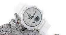 Casio Damen Baby-G Uhr BGS-100-7A1ER weiss