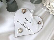 30th Wedding anniversary gift sign Plaque Keepsake Shabby Chic Pearl P110