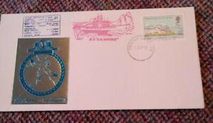 "Tristan Da Cunha 21st Voyage of MV ""SA Agulhas"" Souvenir Covers x 3"
