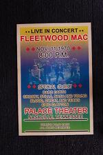 Fleetwood Mac 1970 Tour Poster Nashville Palace Theater