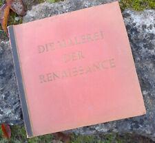 Sammelbilderalbum --Die Malerei der Renaissance-- gut erhalten
