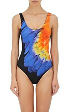 NEW ONIA Kelly One Piece  Swimsuit  Macaw Feather  Size S