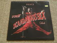 Prince The Scandalous Sex - '12' - washed /gewaschen (Ex+)