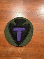 WWI US Army 36th Division,MG patch wool