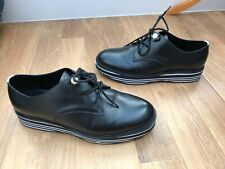 JUICY COUTURE Black Juicy lace up Shoes Size Uk 7 Eur 40 creepers Leather