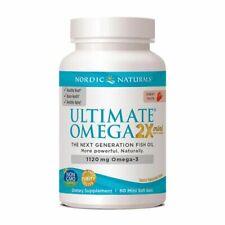 Nordic Naturals Ultimate Omega 2X Mini Strawberry 1120 mg 60 Softgels