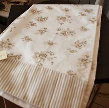 Gestreift 135x45 cm Beige Lila Baumwoll Tischläufer Tischband SONDERANGEBOT