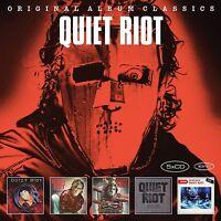 QUIET RIOT - ORIGINAL ALBUM CLASSICS 5 CD NEU