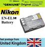 Genuine Original NIKON EN-EL3e Battery,D80 D90 D200 D300 S, D700,D50 D70 S D100