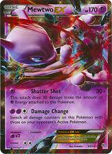 Mewtwo EX Ultra Rare Pokemon Card XY BREAKThrough 62/162