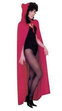 SOLDE rouge long à capuche cape chaperon rouge déguisement halloween pour femmes