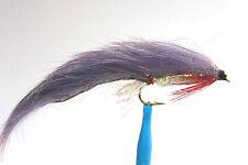 10 x Mouche streamer ZONKER VIOLET H8/10/12 fly truite fliegen mosca purple