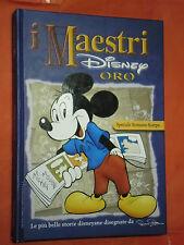 MAESTRI DISNEY- SERIE ORO- cartonato- SPECIALE ROMANO SCARPA-blu-edizioni disney