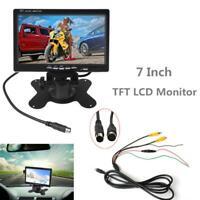 7 Inch TFT-LCD Car Rear View Camera Auto Parking Backup Reverse Monitor Tool