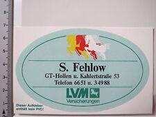 Aufkleber Sticker LVM Agentur Fehlow (3915)