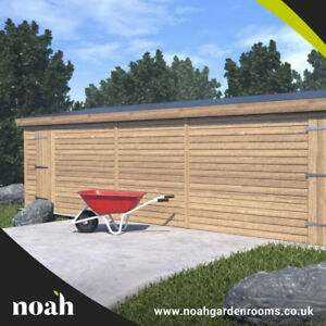 20x10 'Whitefield Shed' Heavy Duty Wooden Tanalised Garden Shed/Workshop/Garage