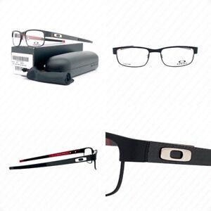 New Oakley Carbon Plate OX5079-0153 Matte Black w/Demo Eyeglasses 53-18-142mm