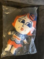 RARE 1969 ORIGINAL VINTAGE LADY MET PLUSH TOY DOLL BASEBALL NY METS MASCOT 15""
