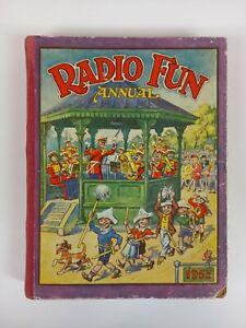Vintage Children's 1953 Radio Fun Annual