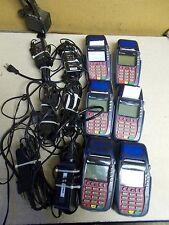 Verifone M257-050-02-NA1 Omni5700 Credit Card Terminals, Lot of 6 w/ Power Cord